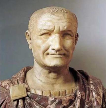 Император Веспасиан, который сказал что деньги не пахнут
